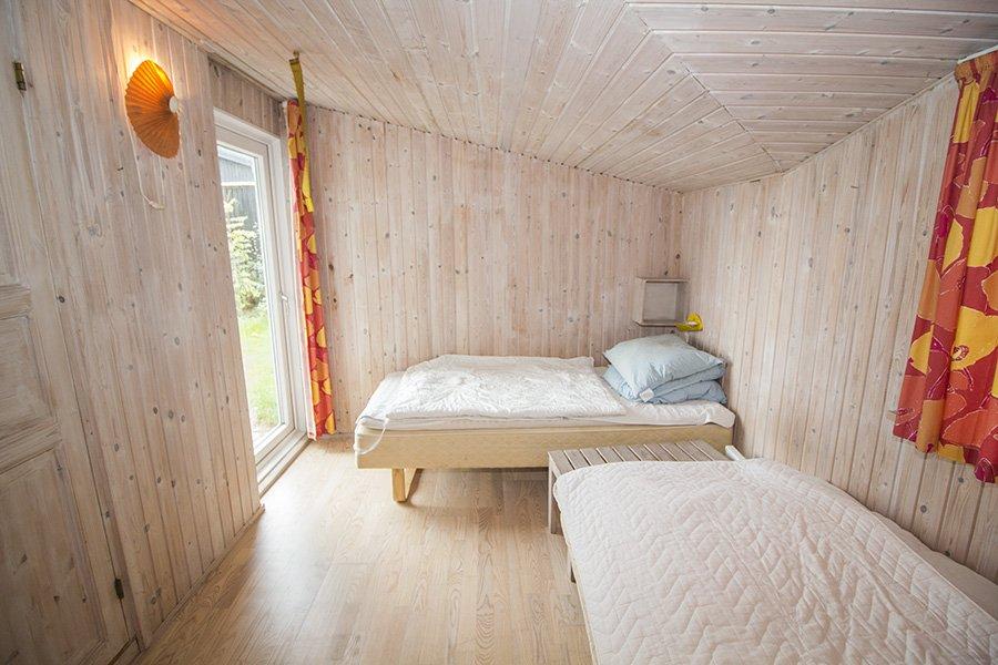Eines der Schlafzimmer.