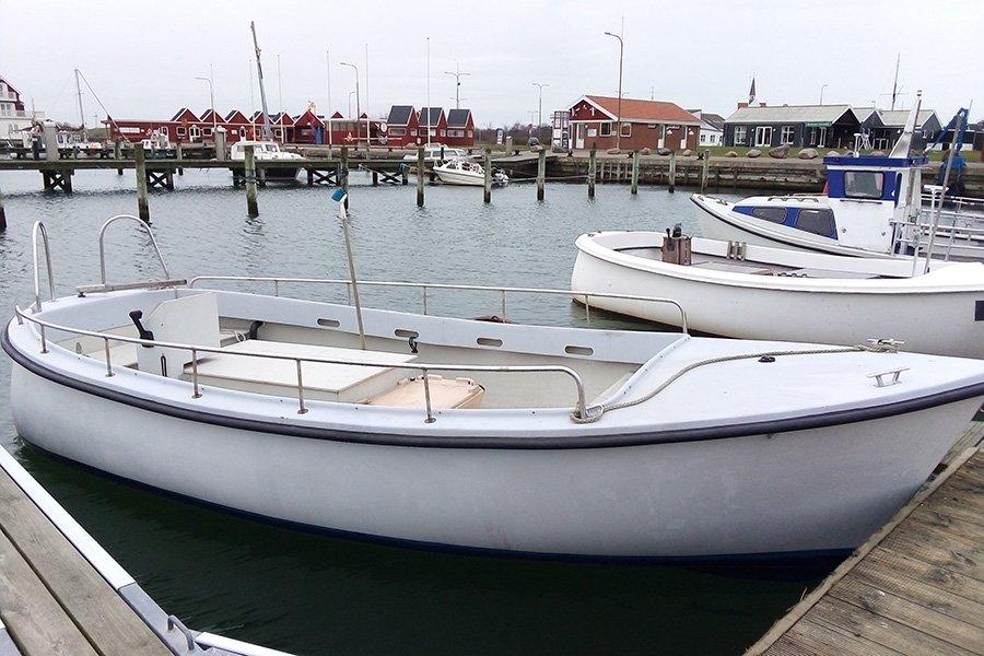Dieselboot Sole mit Echolot