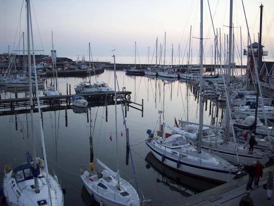 Hafen von Bakenkop.