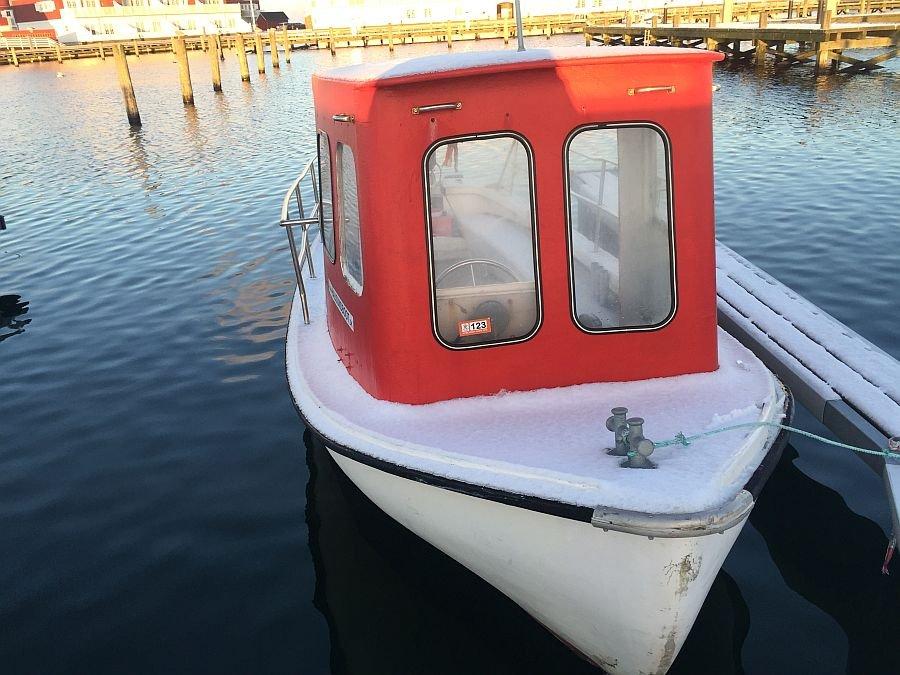 Angelboot Thorjolle.