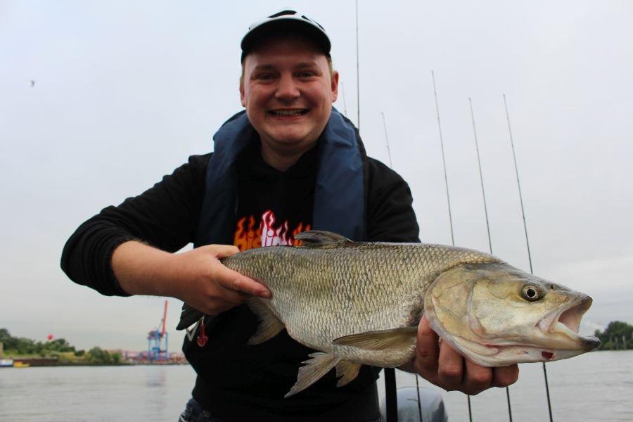 Fisch auf Fisch! Auch David Böttcher, ebenfalls vom Angelreisen-Team, räumte auf unserer Test-Tour im Juli  ab.