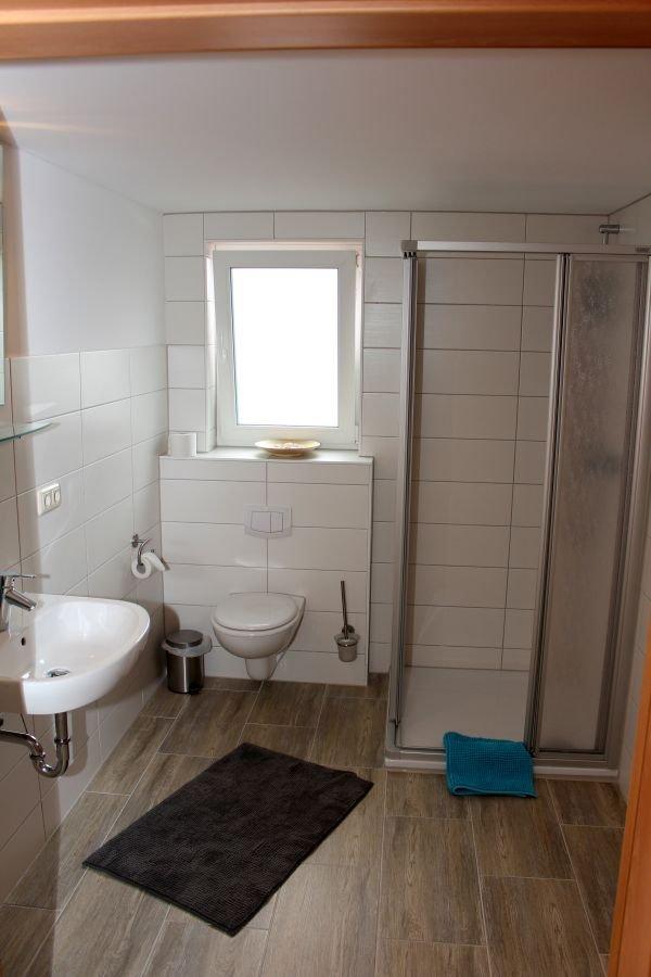 Klassisches Badezimmer im Gasthof