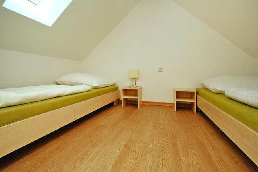 Einzelbetten Schlafboden
