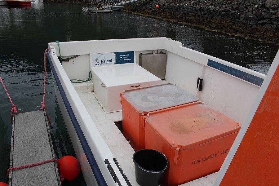 Viel Platz auf den Booten.