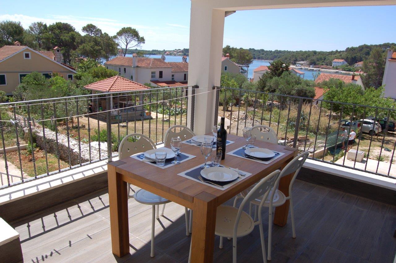Terrasse/Balkon in der Suite Typ D.