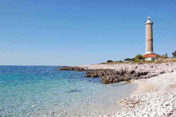 Der Leuchturm von Dugi Otok.