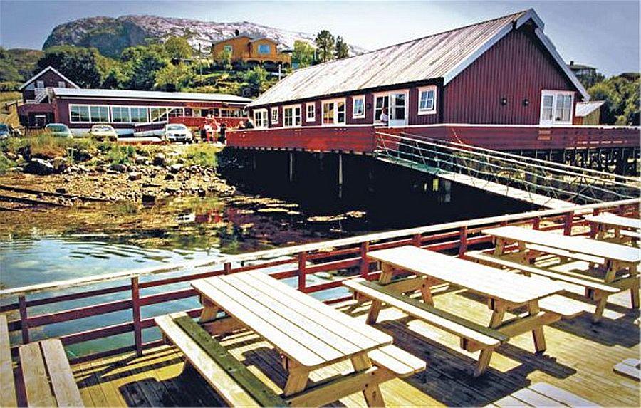 Ankeret Brygge bietet genug Platz für einen gemütlichen Klönschnack