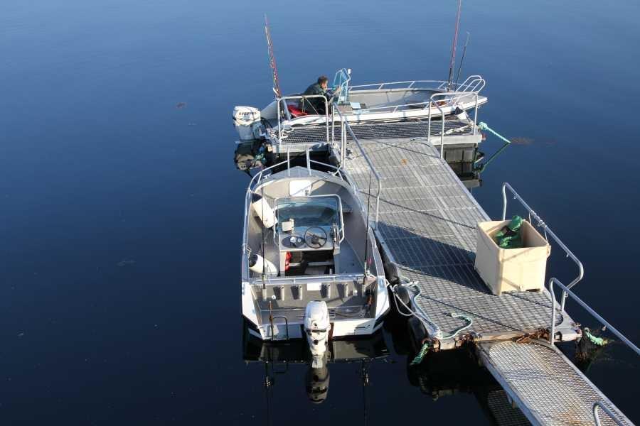 2 Alu-Boote inklusive