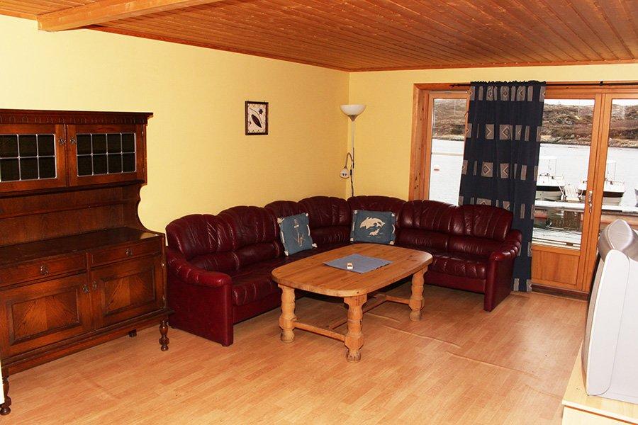 Rorbu 2 Wohnzimmer