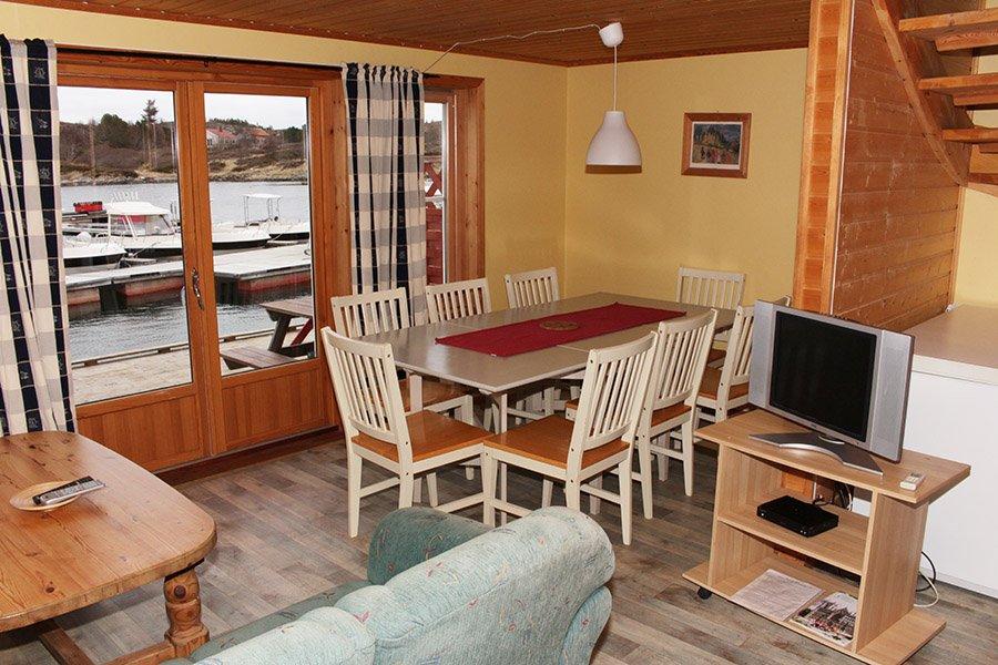 Rorbu 3 Wohnzimmer