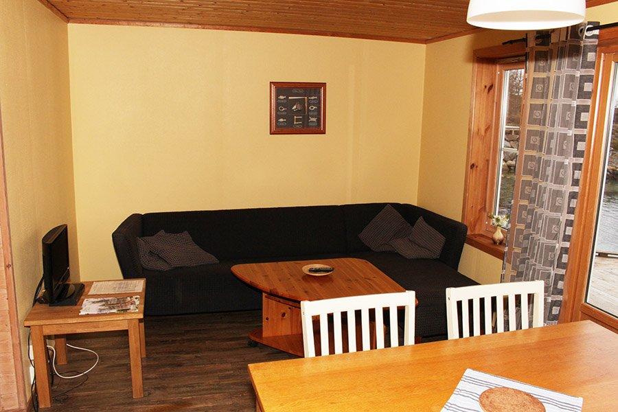 Rorbu 6 Wohnzimmer