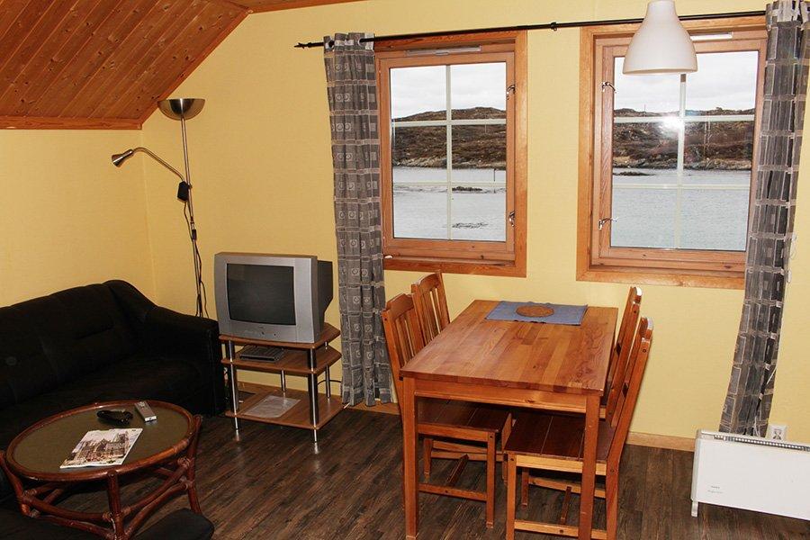 Rorbu 7 Wohnzimmer