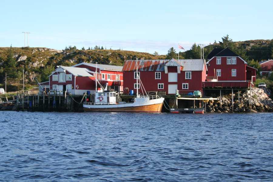 Das TOP ausgestattete Gurvikdal Havfiskesenter liegt direkt am Wasser