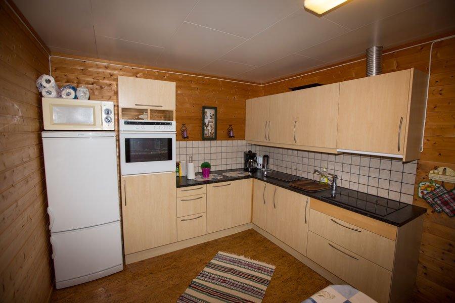 Die neue voll ausgestattete Küche