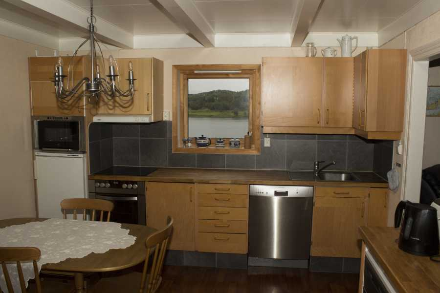 Die neue, top ausgestattete Küche