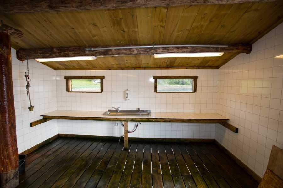 In Rottem kann drinnen und draußen filetiert werden.