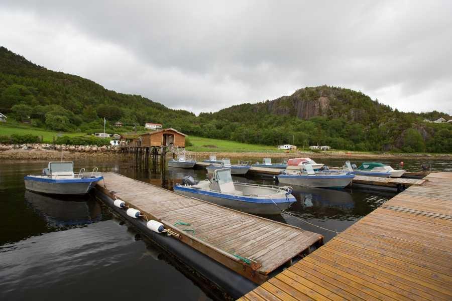 Die Bootsflotte von Rottem