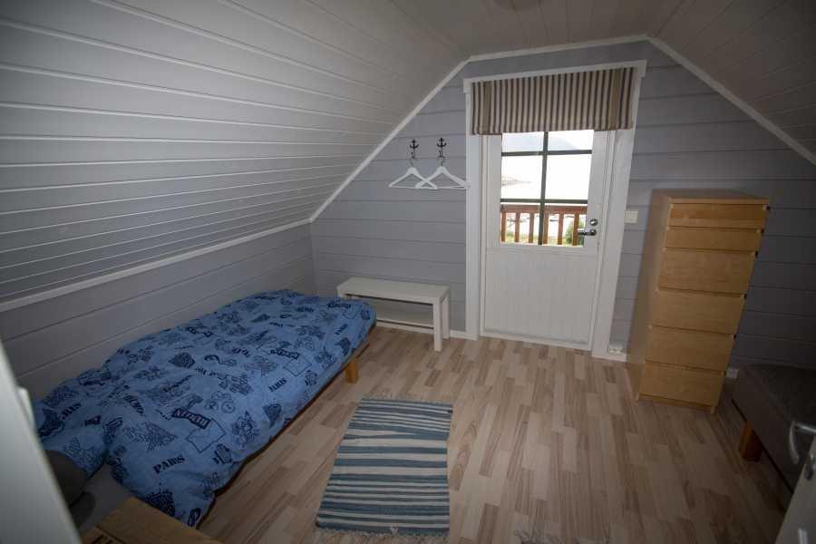 Eines der Schlafzimmer in Haus 2