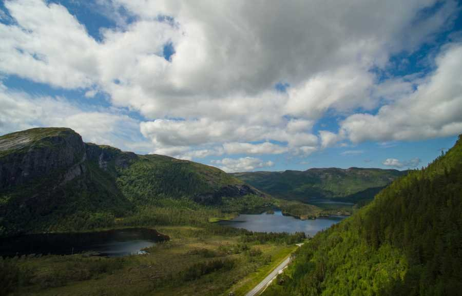 Mit Sicherheit eine der schönsten Gegenden Norwegens.