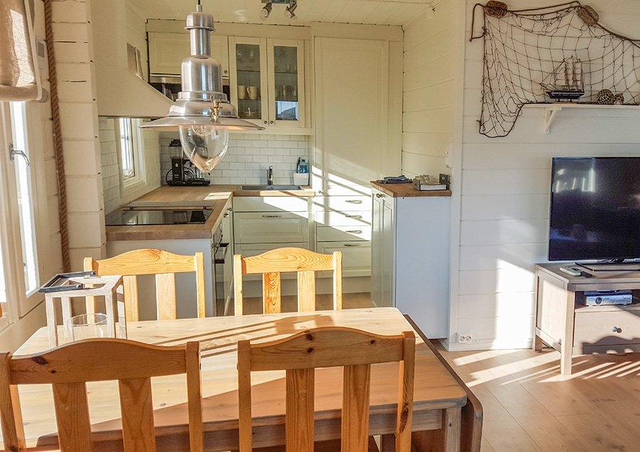 Haus 2 - Essecke und Küche