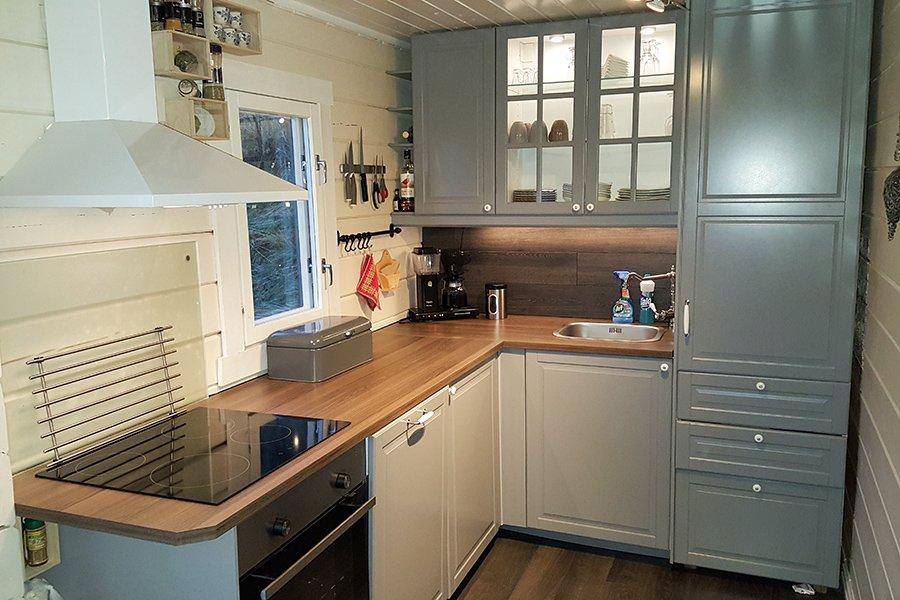 Ferienhaus 3 - Küche