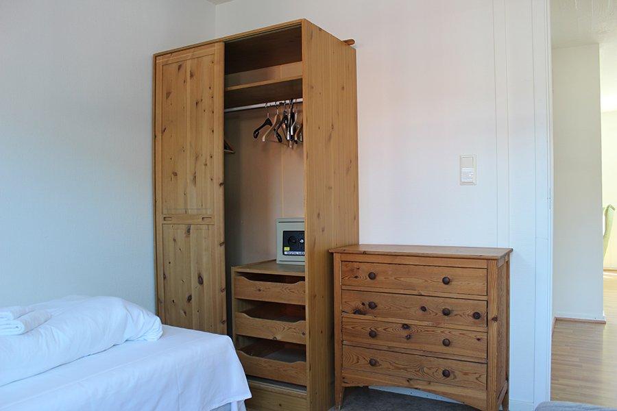 Apartment Tyb B - eines der Schlafzimmer