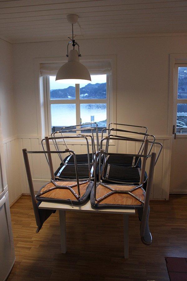 Apartment Typ C - der Essbereich