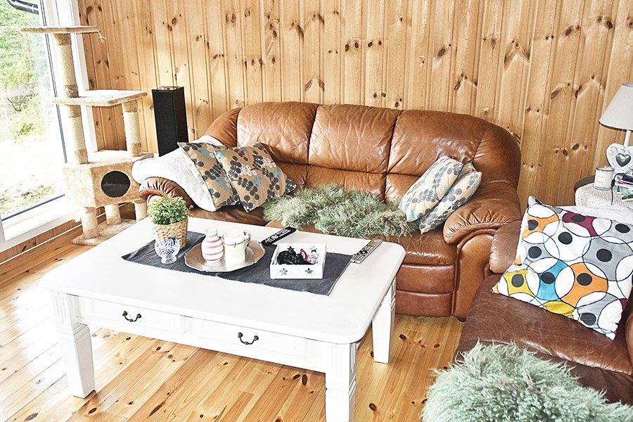 Couch mit schönem Ausblick.