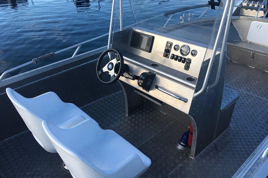 Die Ausstattung der Boote lässt keine Wünsche offen.