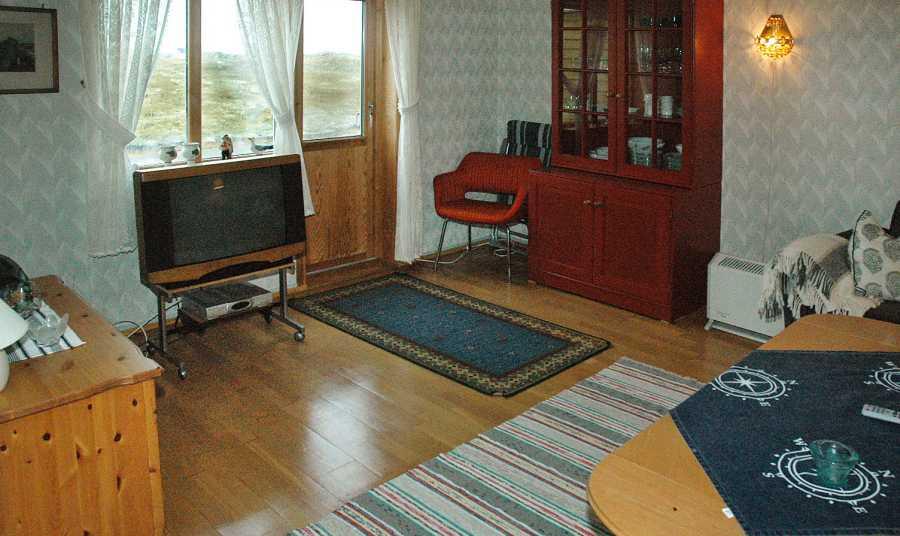 Das Wohnzimmer mit TV