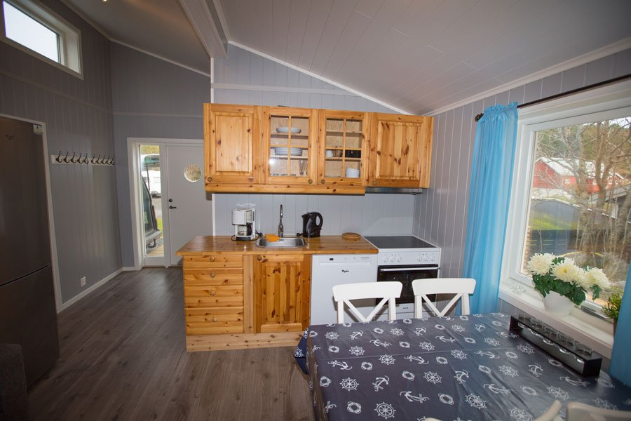 Die Küche in Haus 1