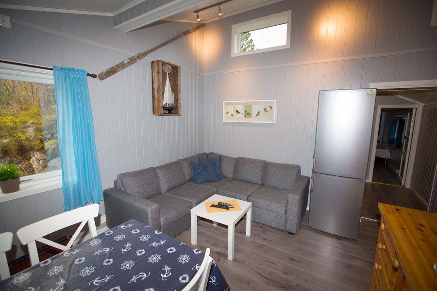 Das Wohnzimmer in Haus 1