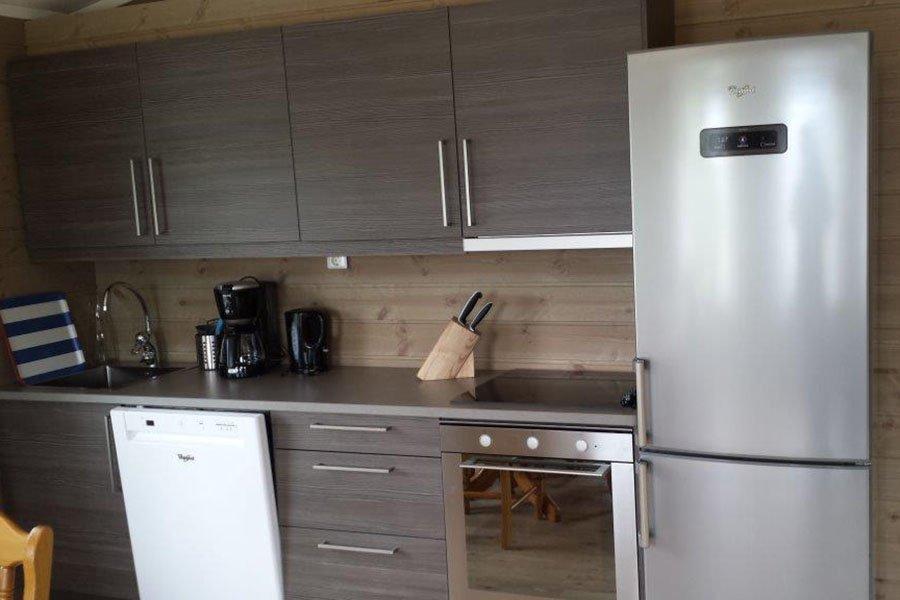 Die Küche in Haus 5