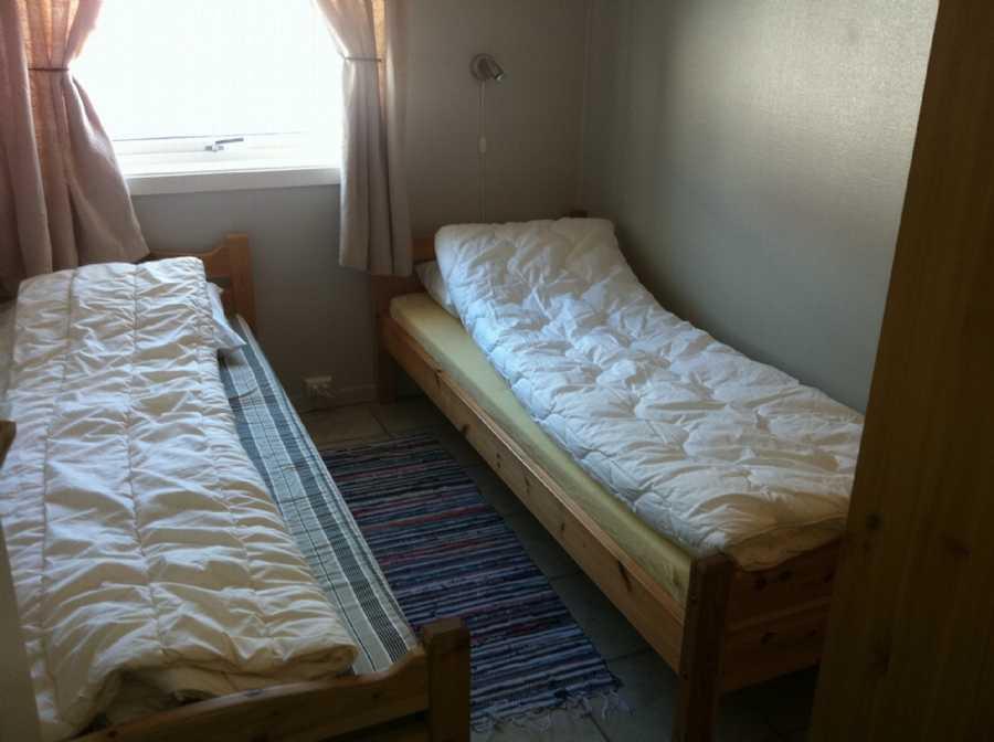 Schlafzimmer im Bogen-Hauptgebäude