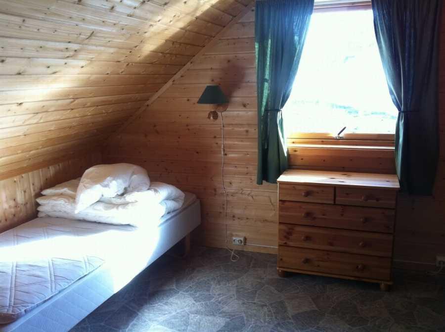 Schlafzimmer im Bogen-Sjøhus