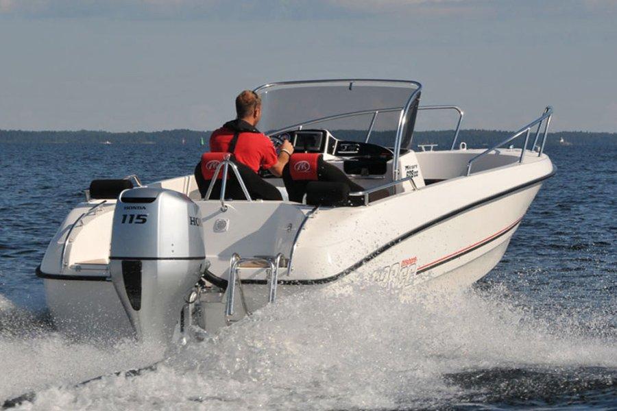 Angelboot 21 Fuß/115 PS