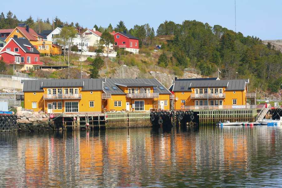 Rørvik Rorbuer – wohnen am Fisch