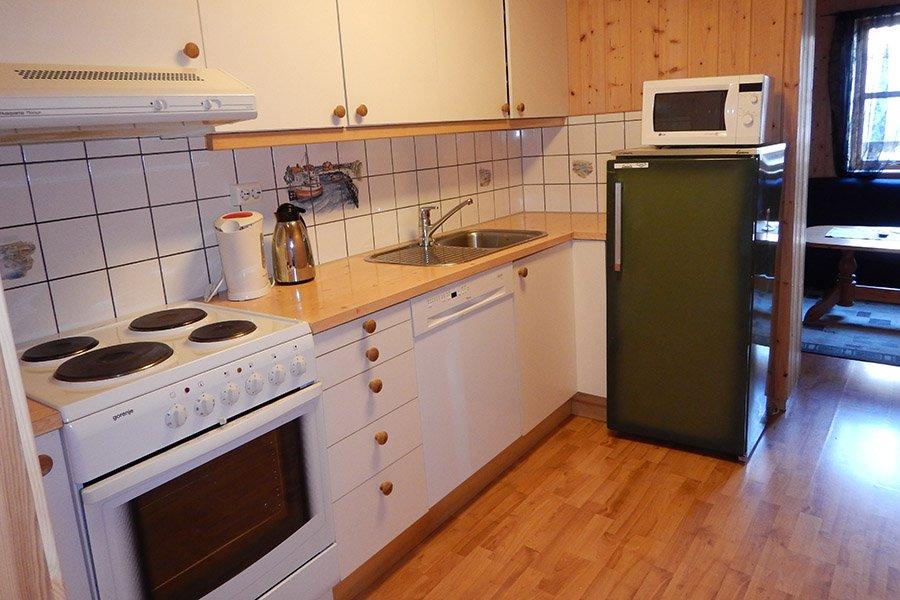 Hier noch eine der Küchen