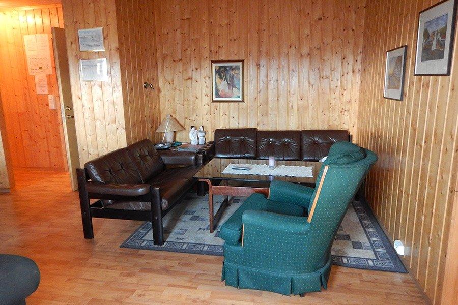Eines der gemütlichen Wohnzimmer