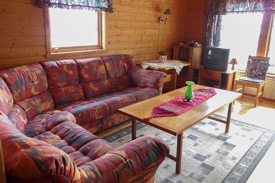 Haus Birkebu - Wohnzimmer