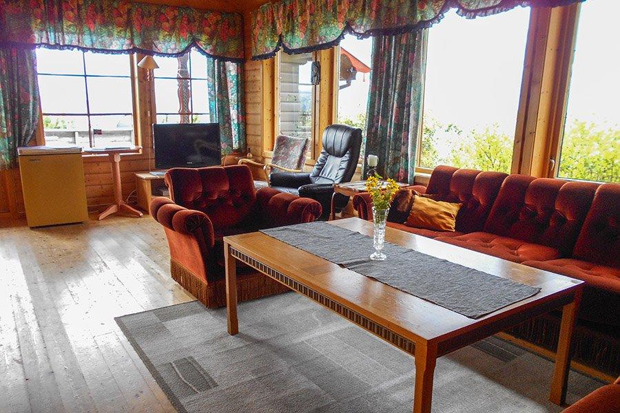 Haus Nubbstua - Wohnzimmer