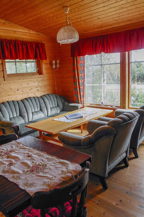 Haus Ospeli - Wohnzimmer