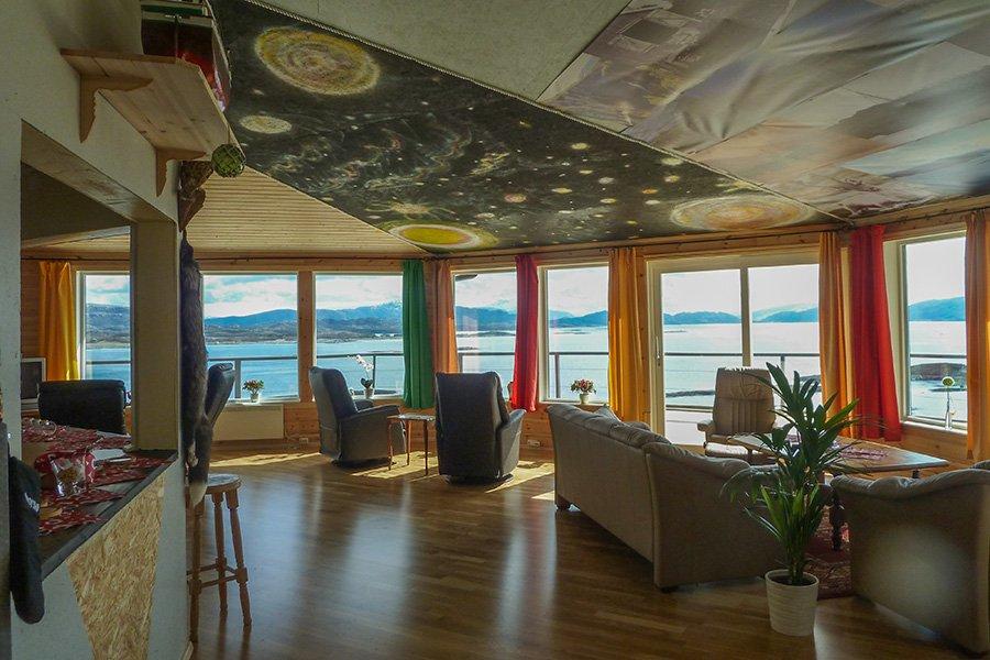 Haus Panorama - Wohnzimmer