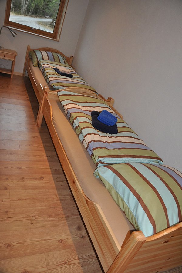 4-Personen Apartment eins der Schlafzimmer