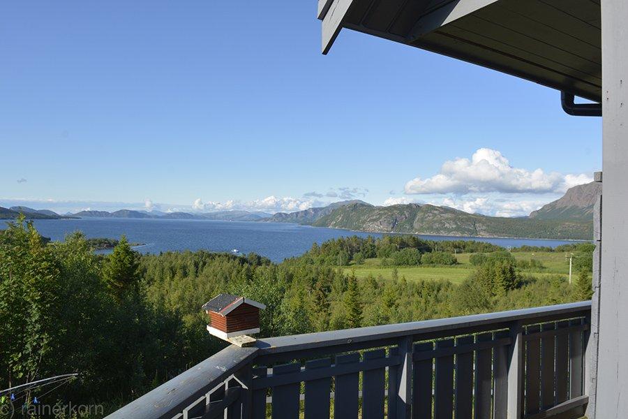 Die Aussicht von Fjordblick