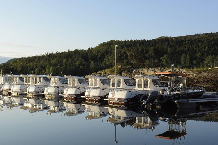Die beachtliche Bootsflotte