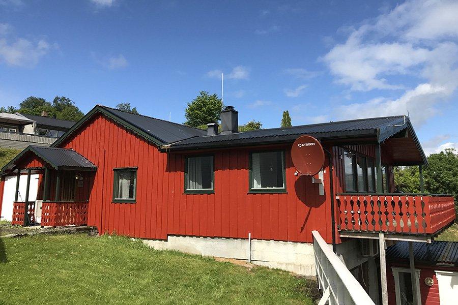 Angeln in norwegen ferienhaus lomsdal g nstig buchen nmlom for Norwegen haus