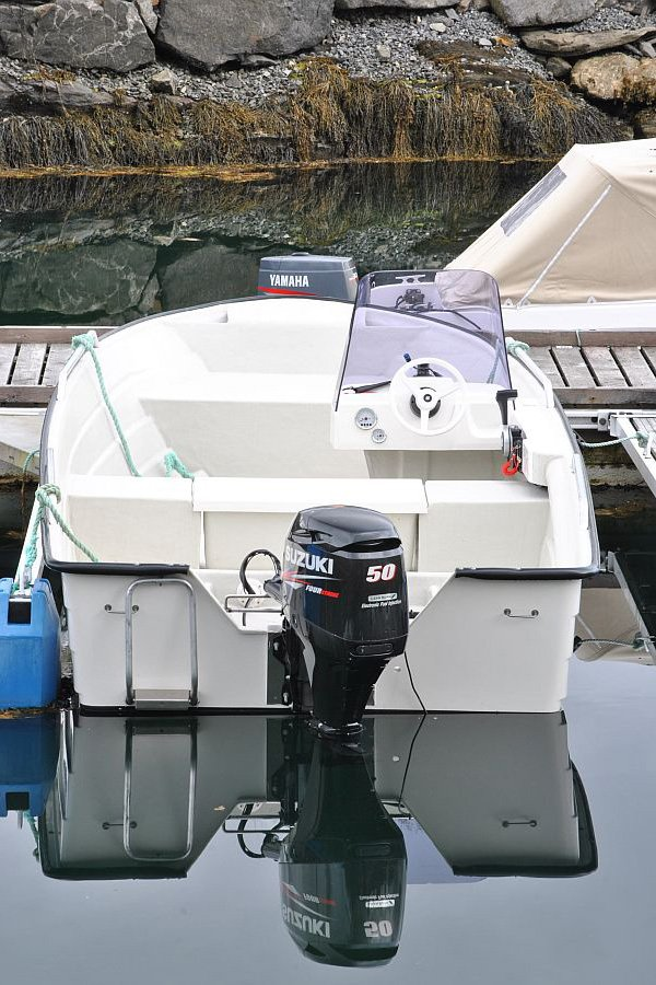 Eines der Boote