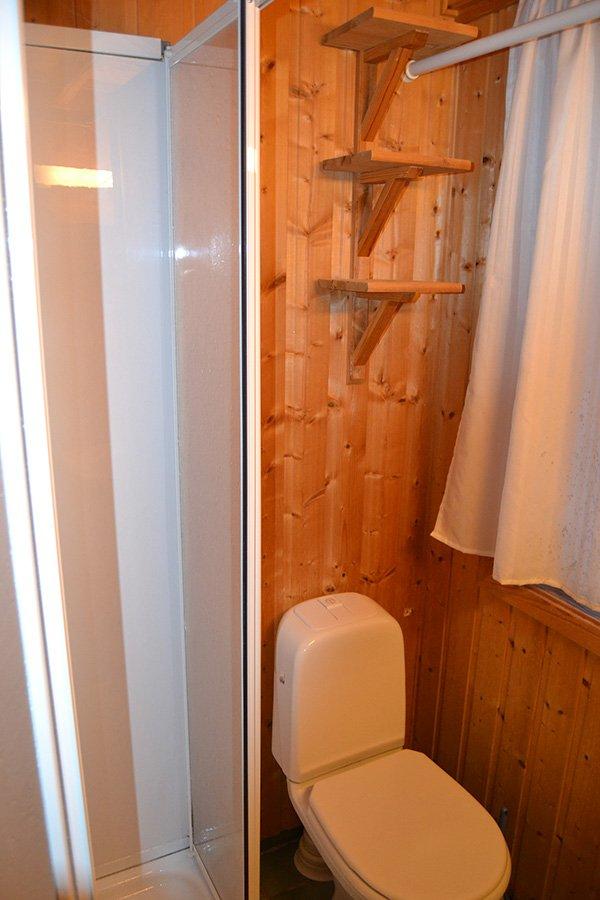 Die gut ausgestatteten Badezimmer (Typ 1)