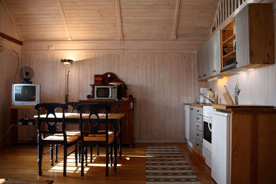 Der Koch- und Essbereich (Typ 2)